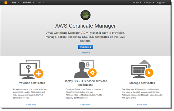 AWS Certificate Manager ssl-tls i cloud seven blog